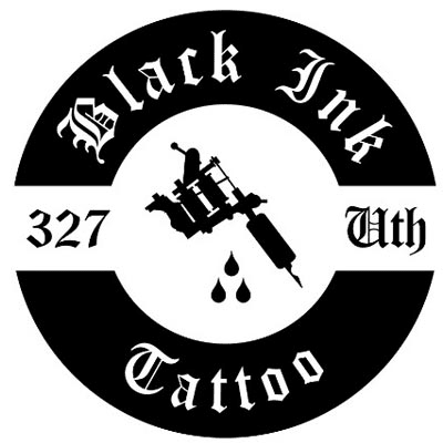 Black Ink Tattoo