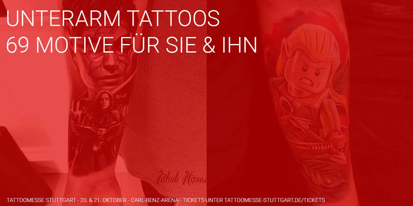 Tattoo Am Unterarm 69 Ideen Motive Fur Frauen Manner