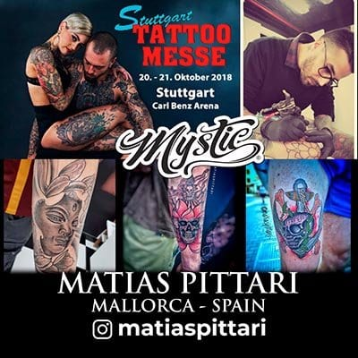 Matias Pittari Mystic Tattoo